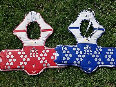 Set of Daedo Truescore Tae Kwon Do E-chest Chest guard Sparring Size 00