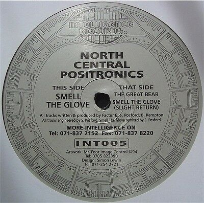 North Central Positronics Smell The Glove Vinyl Single 12inch Intelligence
