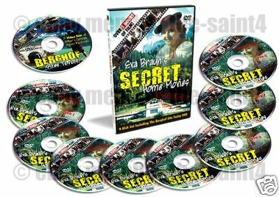 Eva Braun's Private Home Movies on EIGHT DVDs!