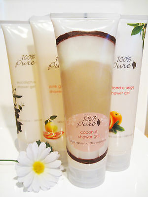 100% Pure Shower Gel - Choice of 9 Scents- from Purity Cosmetics