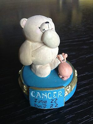 *FOREVER FRIENDS Ornament Figurine Bear Andrew Brownsword Cancer Star sign