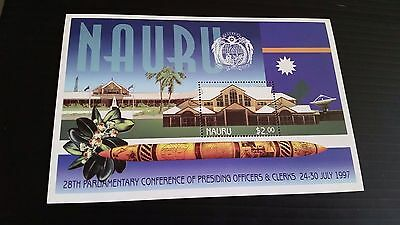 Nauru 1997 Sg Ms472 28Th Parl Conf Mnh