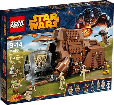 LEGO Star Wars MTT (75058) New and Sealed. Free Lego Poster Included
