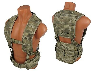 Russian army pixel backpack pouch Vest military paintball airsoft chest rig