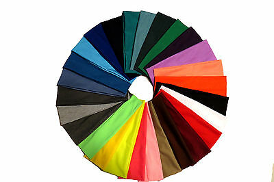 High Quality Cotton Stretch Headband- 24 Colors To Choose From