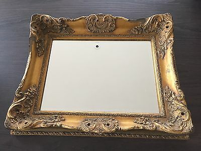 Vintage Antique Wall Mirror Gold Gilt Frame (Chester Grosvenor Hotel)