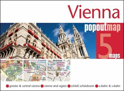 Vienna Popout Map by PopOut Maps 9781910218235 (Sheet map, folded, 2016)