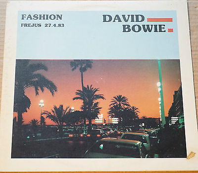 Rare David Bowie Live at Frejus Sweden 27.4.83 Blue Shadow 824 White Label EX