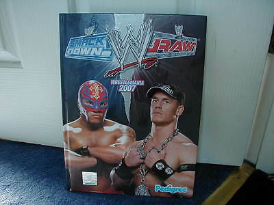 Wwe Wrestlemania 2007 Smackdown V Raw Annual Brand New