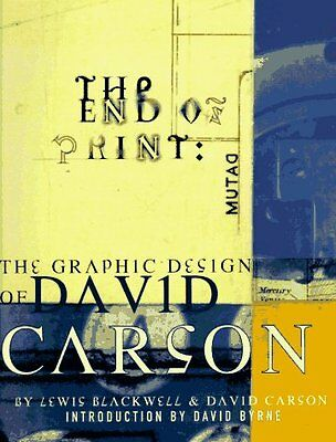 The End of Print: The Graphic Design of David Cars