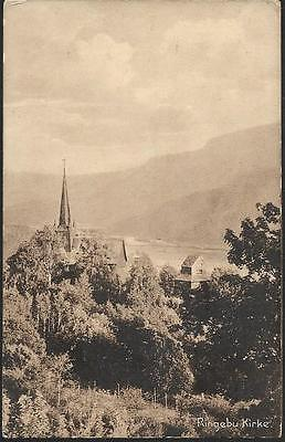 Ringebu, Norway - Kirke (Church) - postcard c.1919