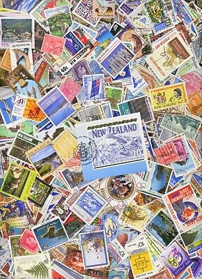 New Zealand 1,000 Different Stamps incl $20 stamp