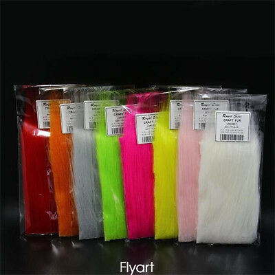 Longest Haired Artificial Craft Fur Fluffy Synthetics Fibers Fly Tying Material