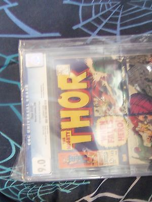 thor 149 cgc 9.0 off white to white pages inhumans appearance