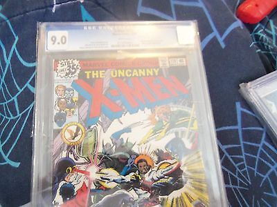 X-men 119 cgc 9.0 blue label white pages crack in case