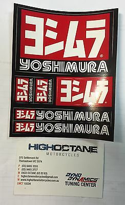 Yoshimura Sticker Pack x1