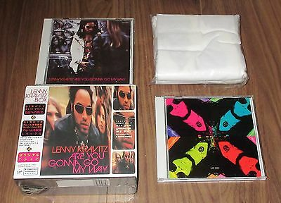 LENNY KRAVITZ Japan box set LIMITED EDITION 2 x CD with T-SHIRT and OBI full set
