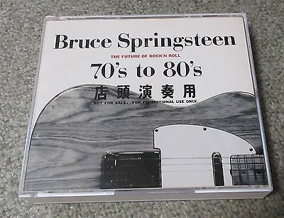 BRUCE SPRINGSTEEN Japan PROMO ONLY 2 x CD 70s To 80s FUTURE OF RnR XADP90009/10