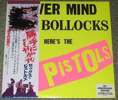 SEX PISTOLS Japan limited edition LP w/POSTER 7 inch single SEALED obi RARE PUNK