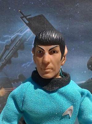 "1974 Mego Star Trek 8""  Spock  Figurine  Original Mint Jointed And Bendable Rare"