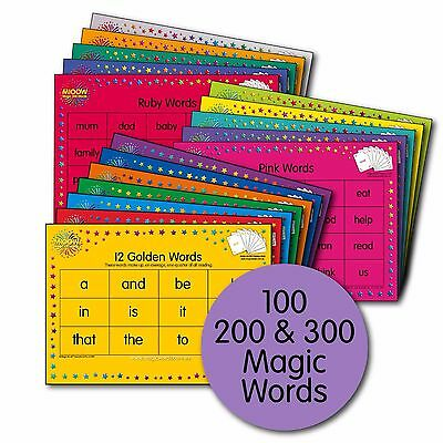 M100W - Magic Words Premium Placemat Sheets Pack*