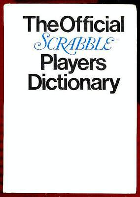 The Official Scrabble Players Dictionary by Selchow & Righter Company