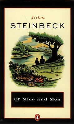Of Mice And Men (Turtleback School & Library Binding Edition) (Penguin Great Boo