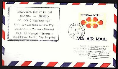 FFC MONTREAL TO ACAPULCO MEXICO (TAMOCAN 7183 d)(K2175)