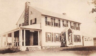 Southbury Ct Lutheran Home For The Aged Real Photo Pc C 1930s
