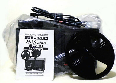 Elmo SC-18 Super 8 Twin-Track sound film projector