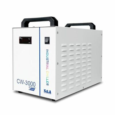 USA! S&A 110V 60HZ CW-3000DG Water Chiller for 60W / 80W CO2 Laser Tube
