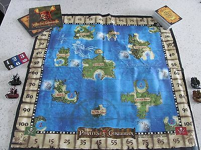 Disney Pirates Of The Caribbean Board Game with DVD Treasure Hunt