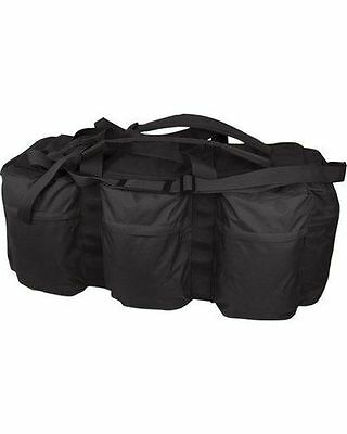 Black Tactical Assault Holdall 100L Tool Kit Bag Deployment Military