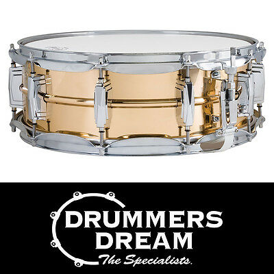"Ludwig 14"" x 5"" Bronze Shell Supraphonic Snare Drum w/Imperial Lugs RRP $1499"