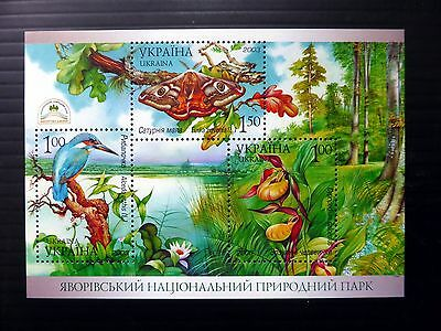 UKRAINE 2003 Birds & Butterflies M/Sheet MS485 U/M NB1070