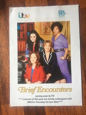 ITV Press pack Brief Encounters Penelope Wilton Sophie Rundle Angela Griffin