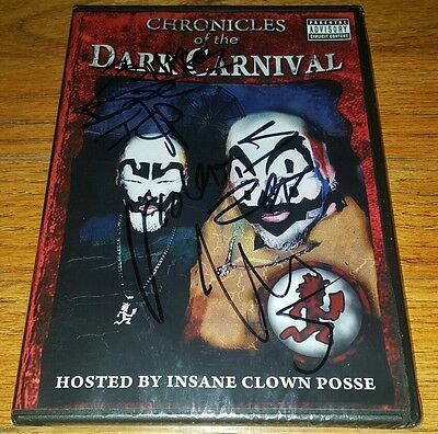 New Icp Gotj 1St Edition Chronicles Of The Dark Carnival Dvd Sealed & Signed