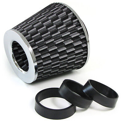Universal Sport Luftfilter Performance Mit Adapter Carbon Chrom