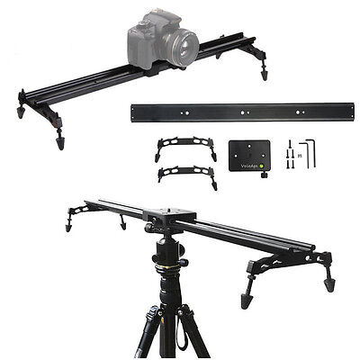 80cm Photo Studio Track Dolly slider camara DSLR Video Stabilization Rail