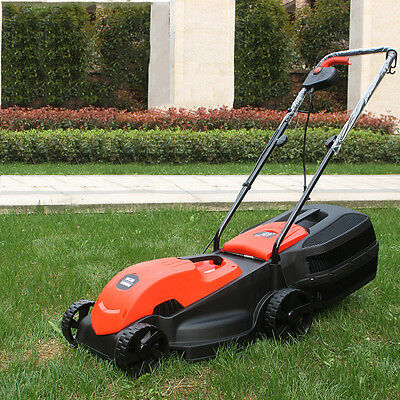 """24V DC 350W 14"""" Cordless Rechargeable LawnMower Electric M Mower Set"""