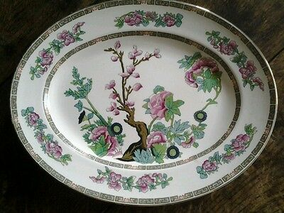 John Maddock And Sons England Indian Tree Oval Serving Platter