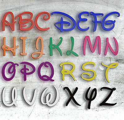 Personalised Plastic Plaques Words Letters Wall Door Art Craft Sign Alphabet