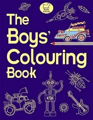 The Boys' Colouring Book by Jessie Eckel 9781906082895 (Paperback, 2009)