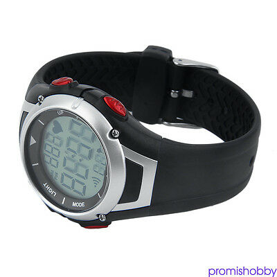 Popular Favor Heart Rate Monitor Wireless Chest Strap Sport Watch For Adult