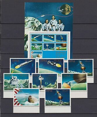 s16710) SOMALIA MNH** Nuovi** 1970 Space 7v + 1v +  s/s never officially issued
