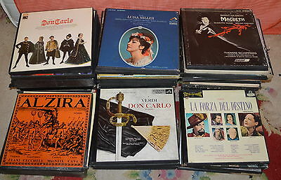 Large Lot Of Classical And Opera Records - collection only Weymouth