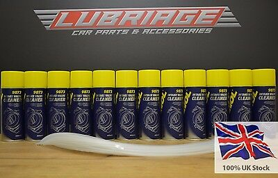 9873 Mannol Intake Valve Egr And Throttle Body Cleaner 12X400Ml.