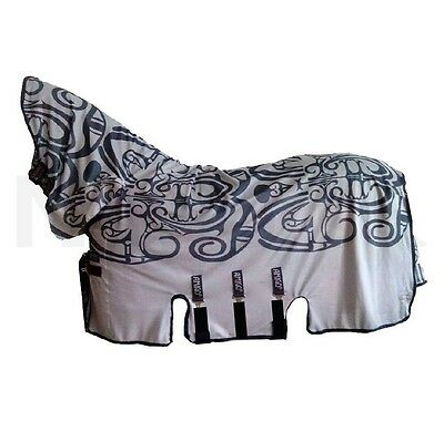 Horseware Amigo Bugbuster All In One Vamoose Silver/Excal Print Size 7'0