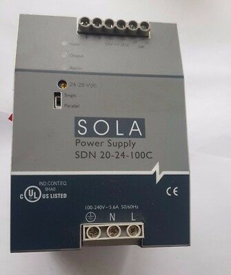 Sola Sdn 20-24-100C Power Supply (R5S12.8B1)