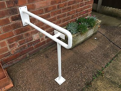 Toilet Safety Rail Handle Floor And Wall Mounted Disabled Elderly Mobility